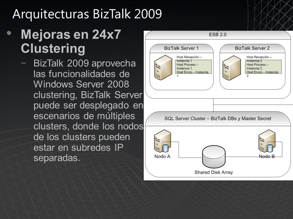 Arquitecturas BizTalk 2009