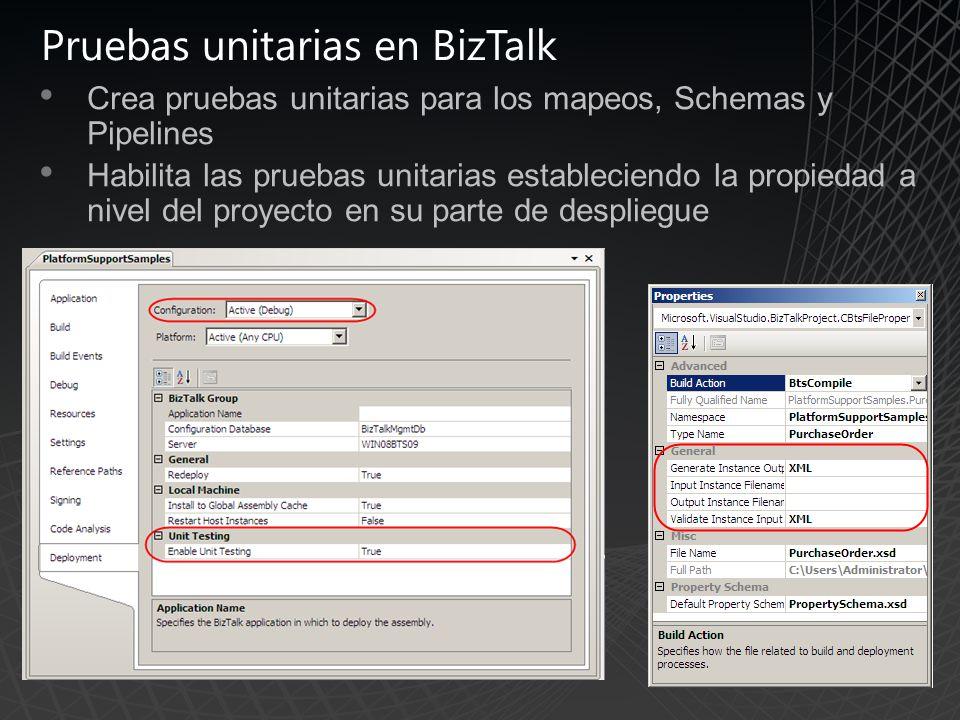 Pruebas unitarias en BizTalk