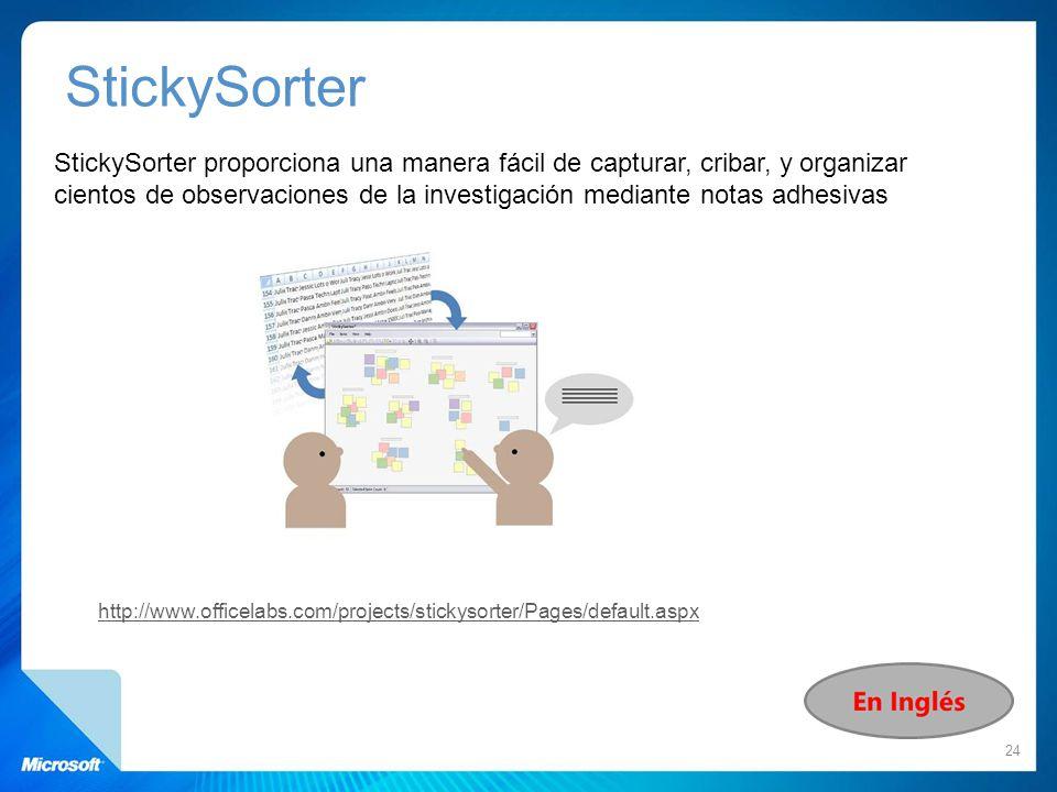 StickySorter