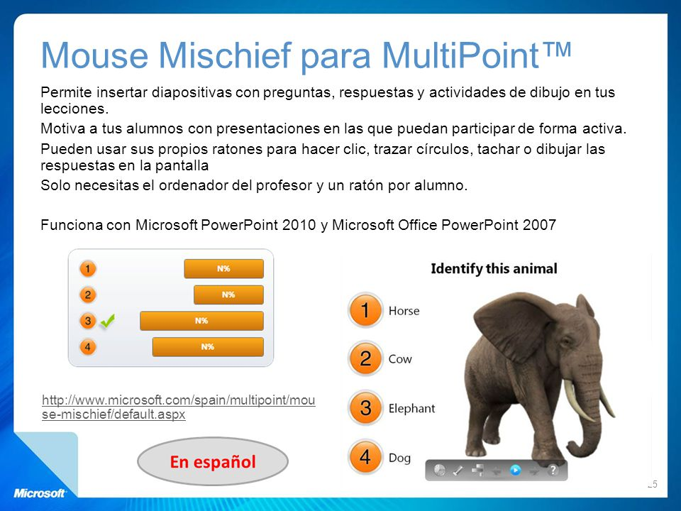 Mouse Mischief para MultiPoint™