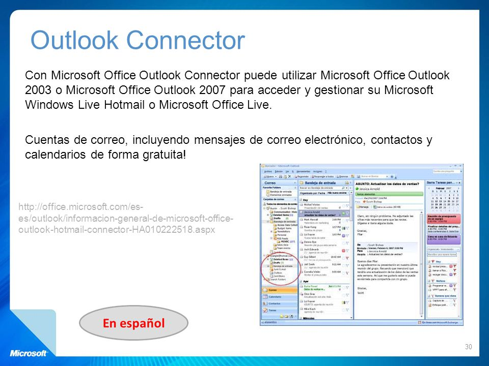Outlook Connector