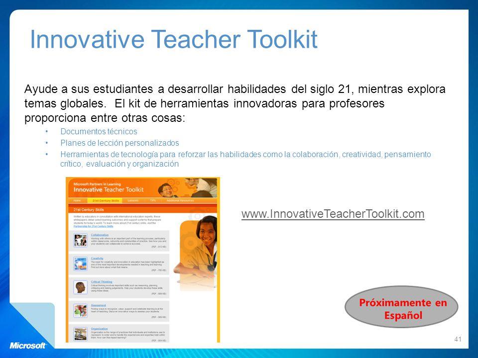 Innovative Teacher Toolkit