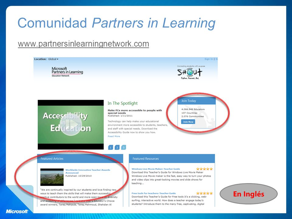 Comunidad Partners in Learning