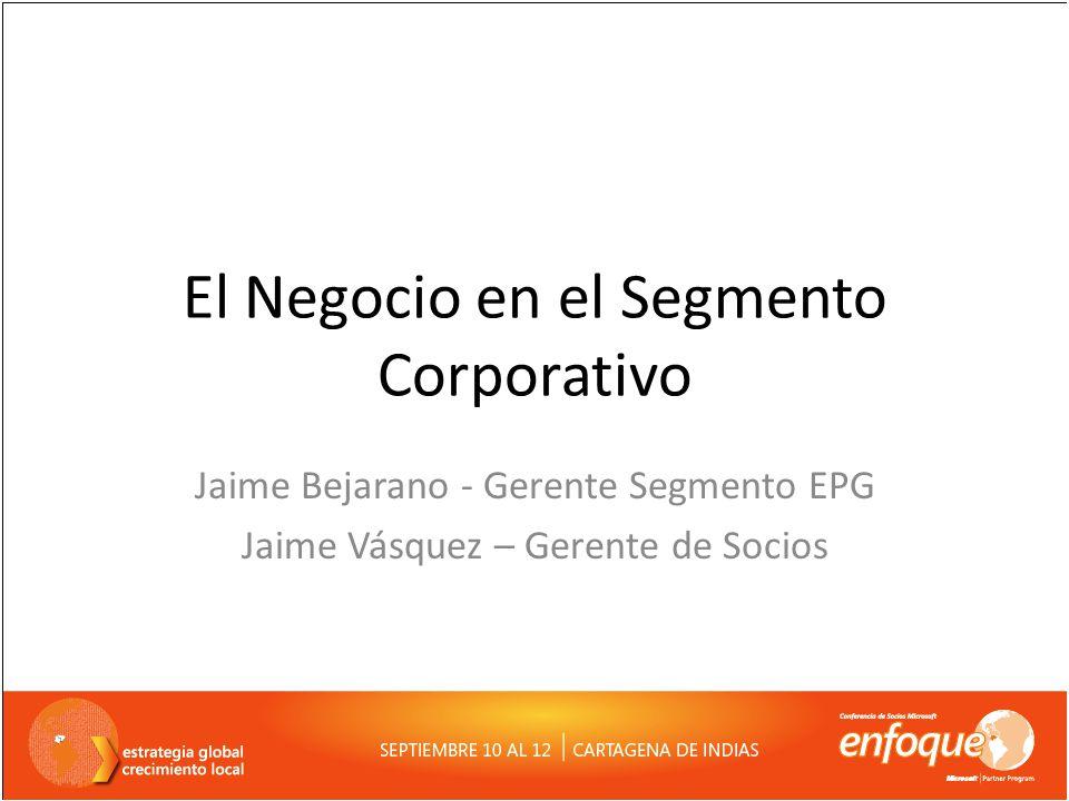 El Negocio en el Segmento Corporativo