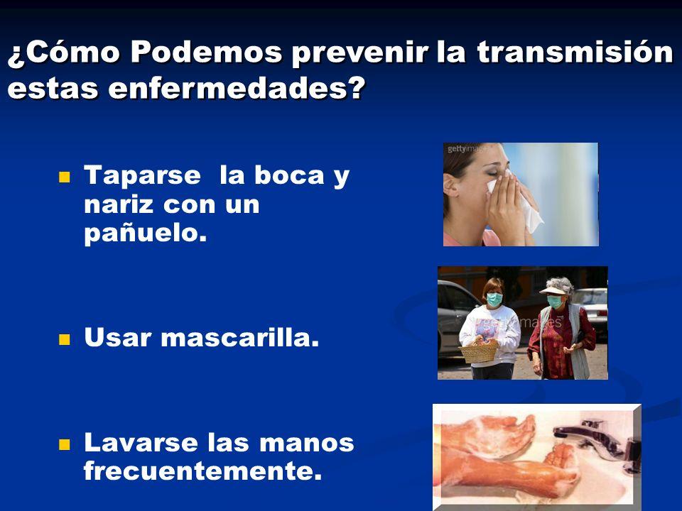 ¿Cómo Podemos prevenir la transmisión de estas enfermedades