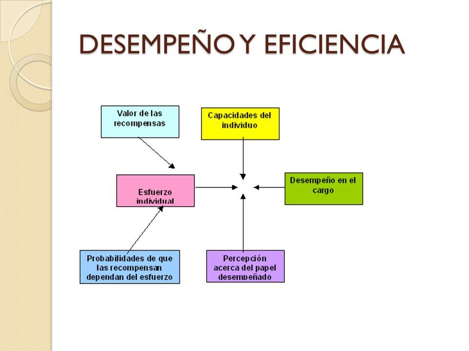 DESEMPEÑO Y EFICIENCIA