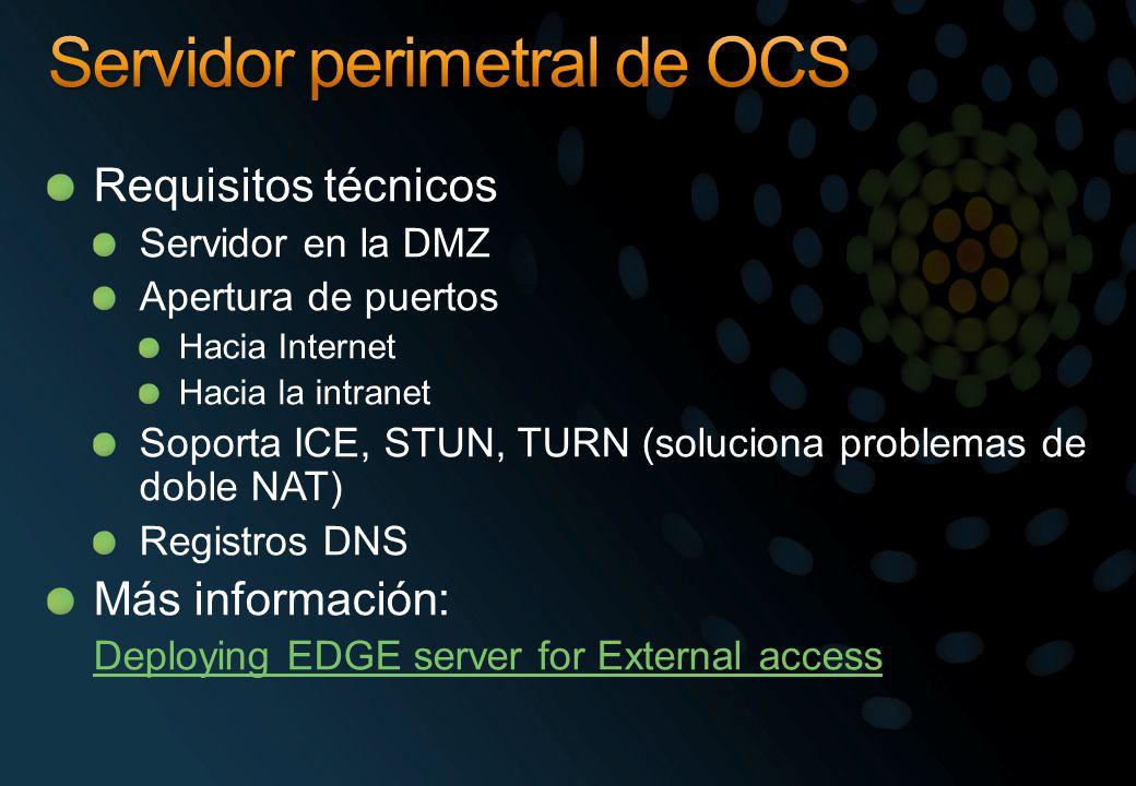 Servidor perimetral de OCS