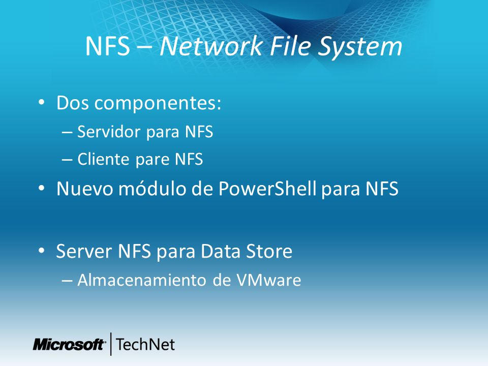 NFS – Network File System