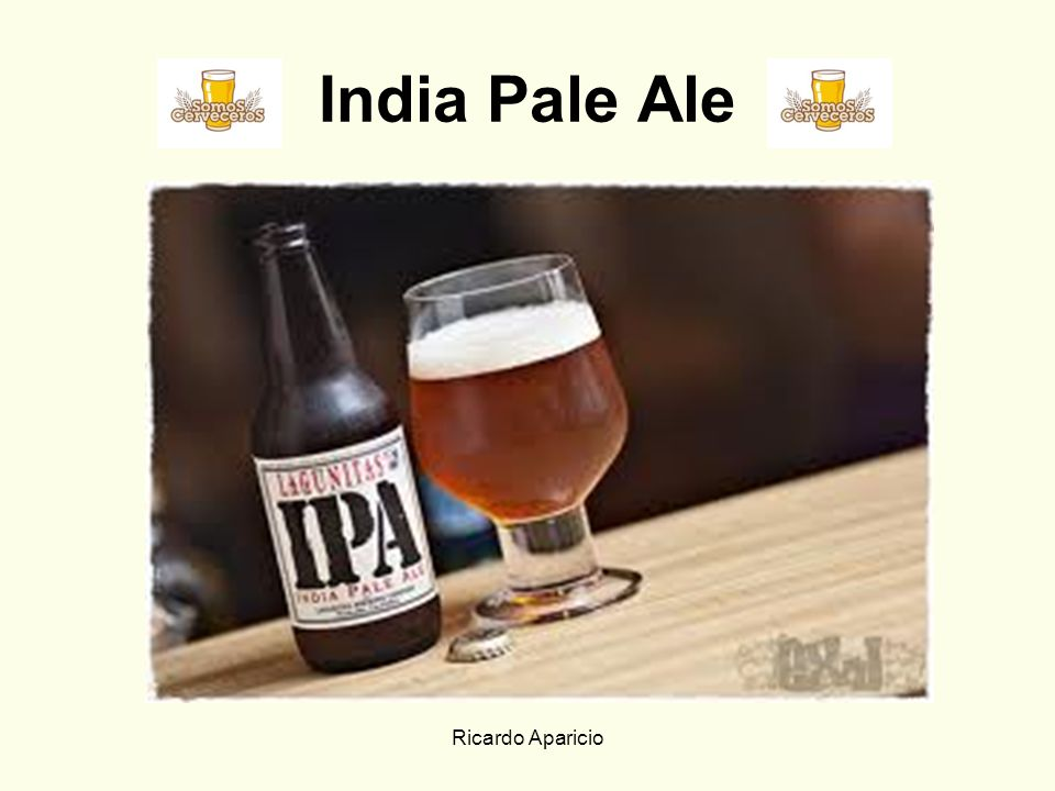 India Pale Ale Ricardo Aparicio