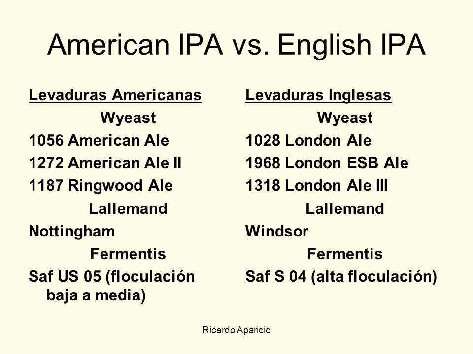 American IPA vs. English IPA