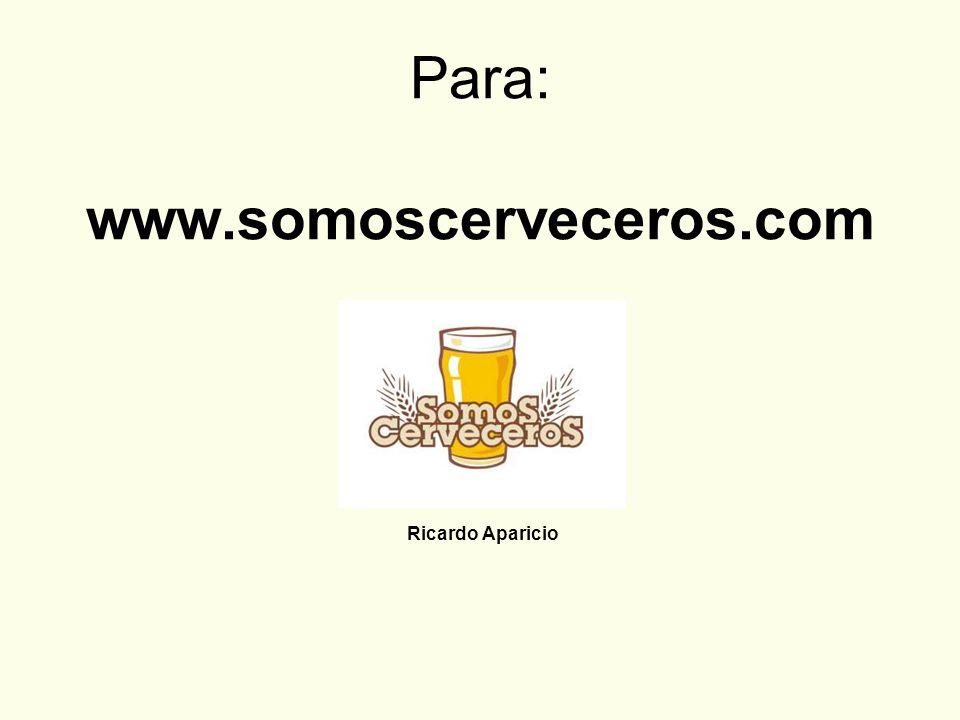 Para: www.somoscerveceros.com