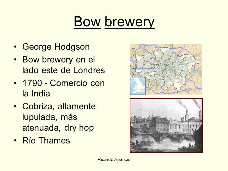 Bow brewery George Hodgson Bow brewery en el lado este de Londres