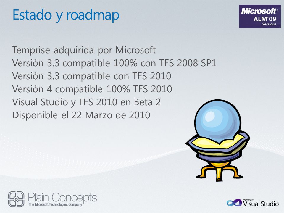 Estado y roadmap Temprise adquirida por Microsoft