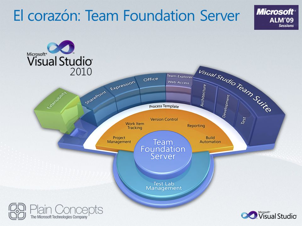 El corazón: Team Foundation Server