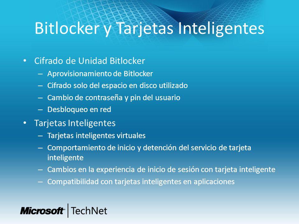 Bitlocker y Tarjetas Inteligentes