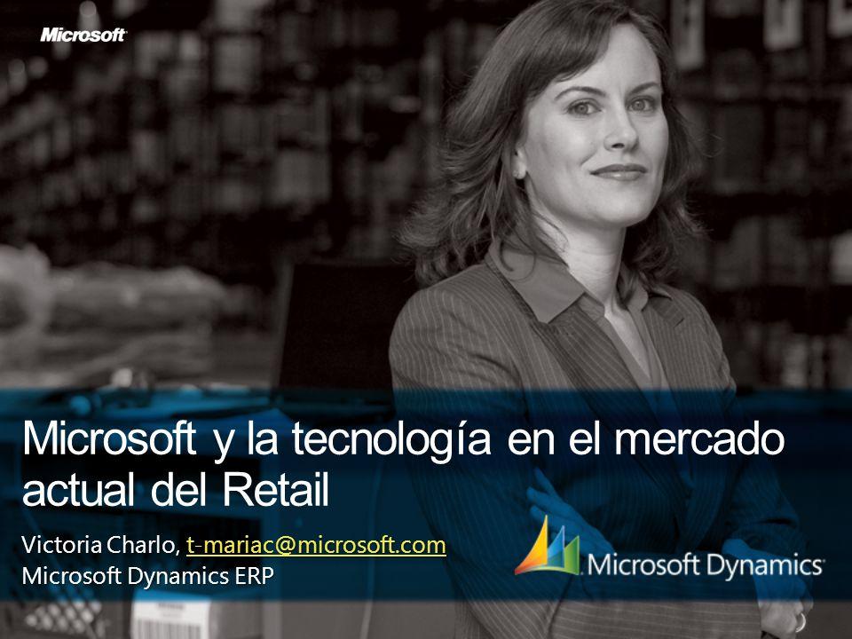 Microsoft y la tecnología en el mercado actual del Retail
