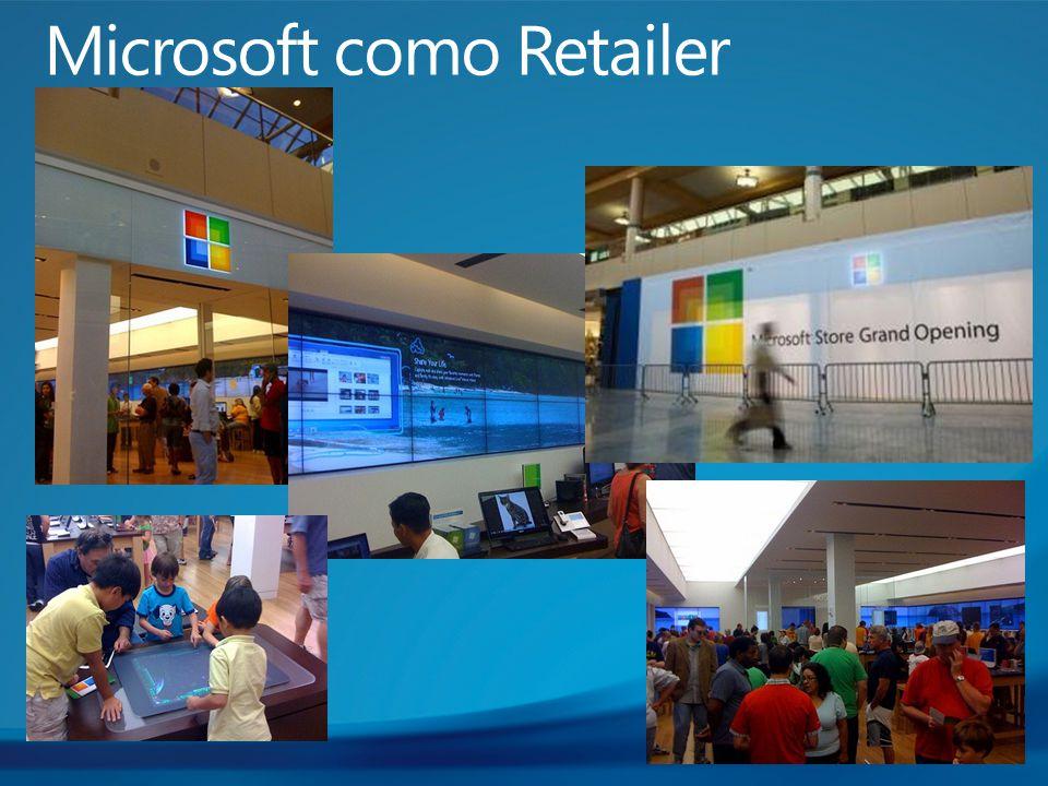 Microsoft como Retailer