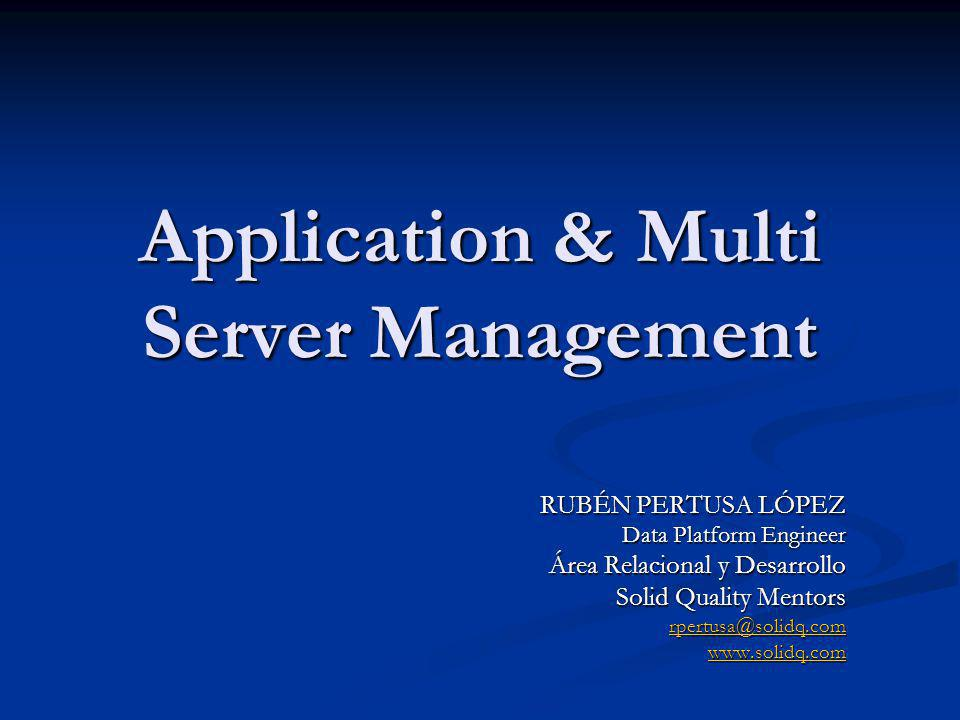 Application & Multi Server Management