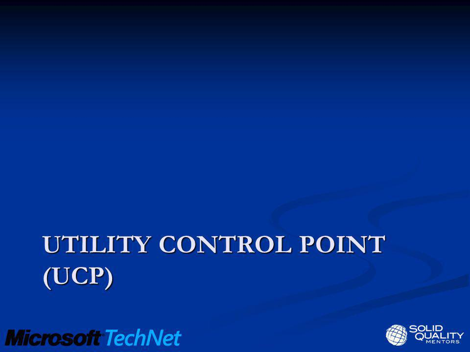 Utility control point (UCP)