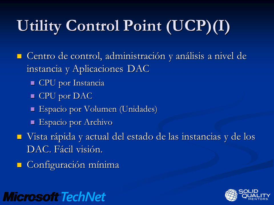 Utility Control Point (UCP)(I)