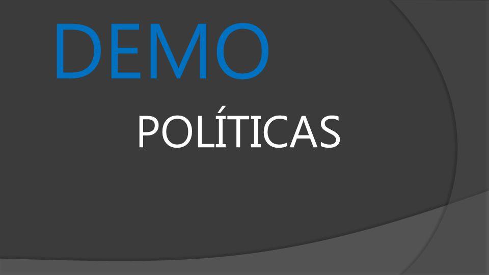 DEMO POLÍTICAS