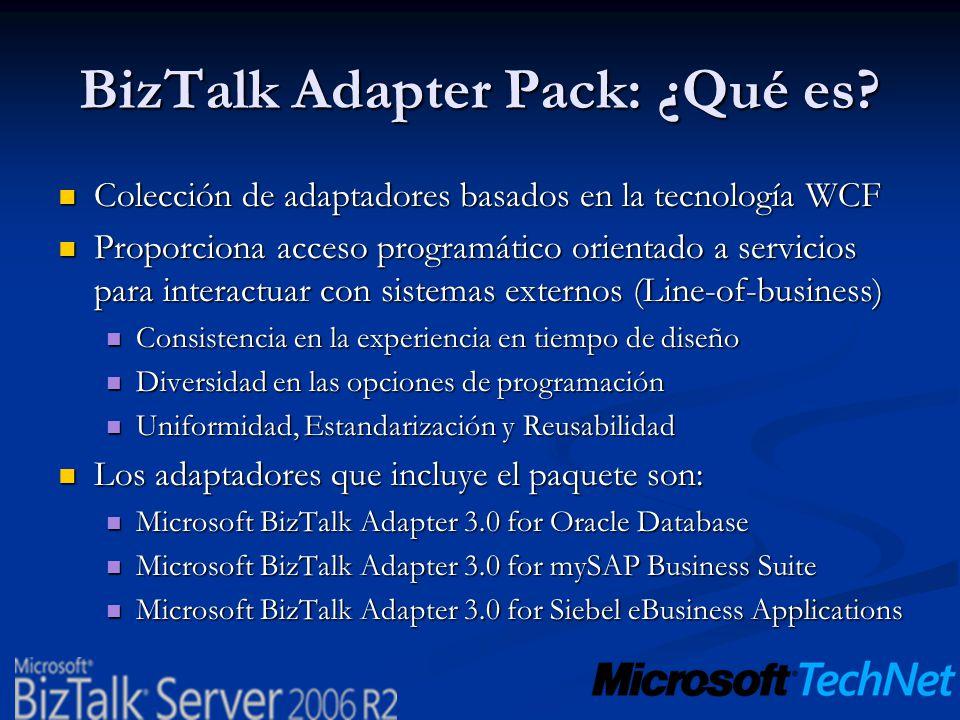 BizTalk Adapter Pack: ¿Qué es