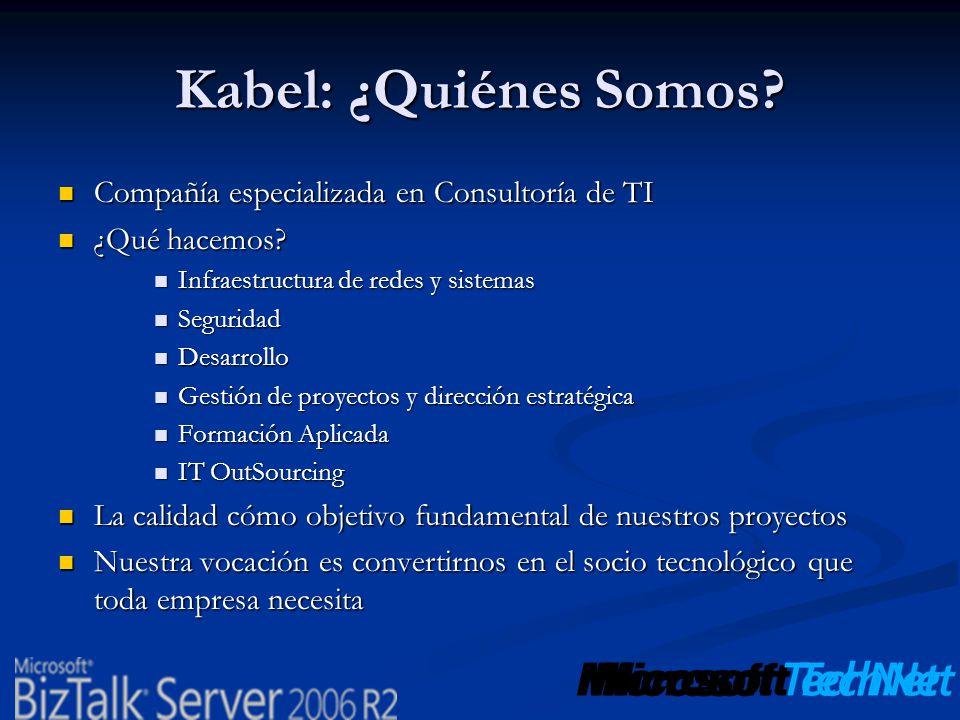 Kabel: ¿Quiénes Somos Compañía especializada en Consultoría de TI