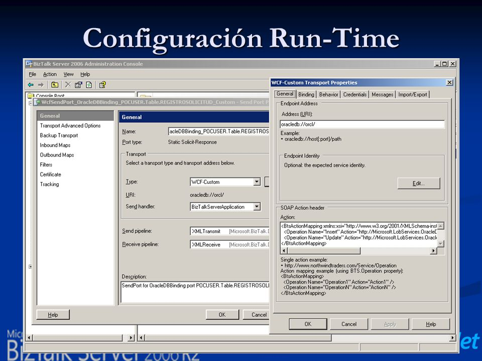Configuración Run-Time