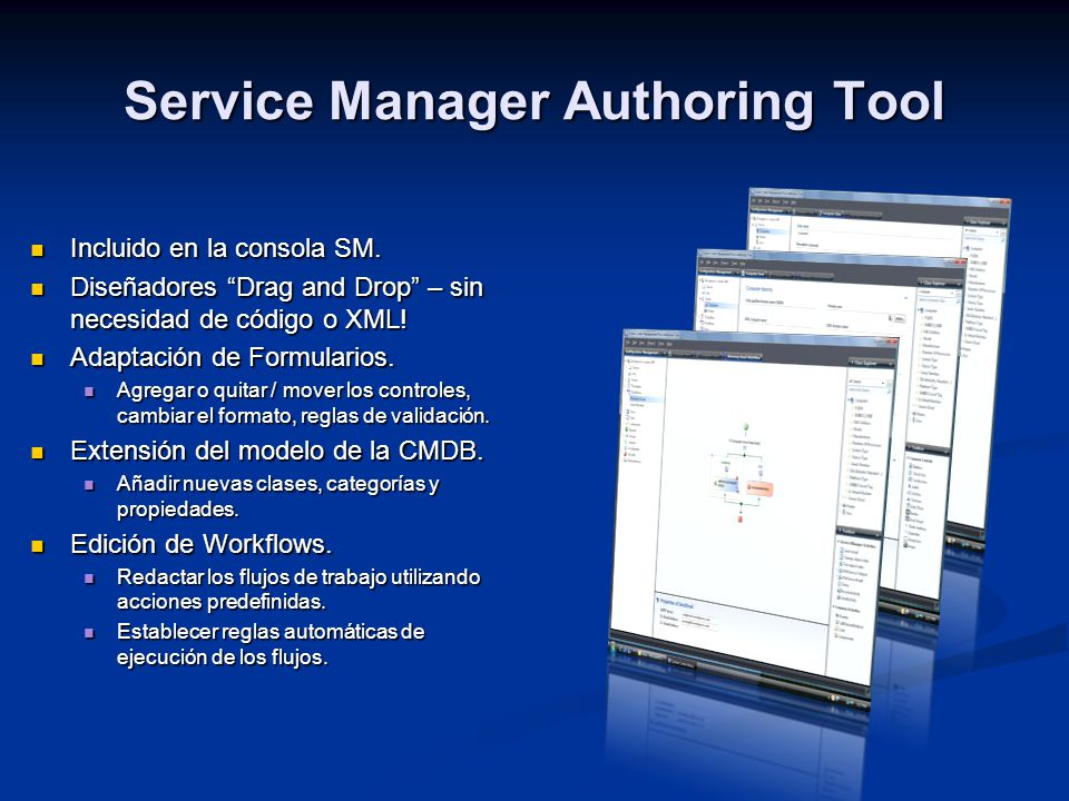 Service Manager Authoring Tool