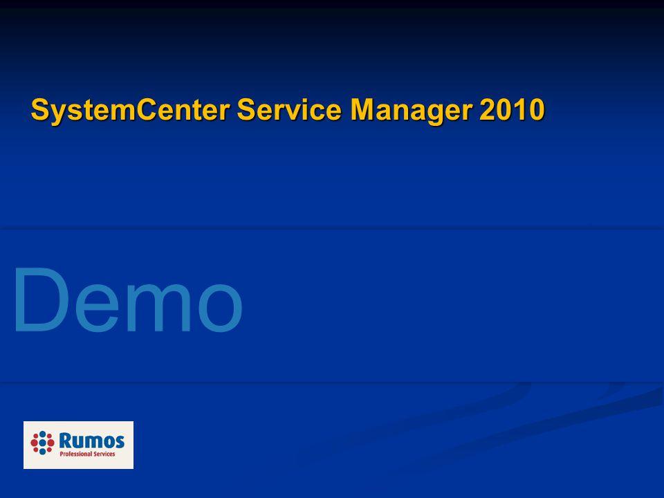 SystemCenter Service Manager 2010