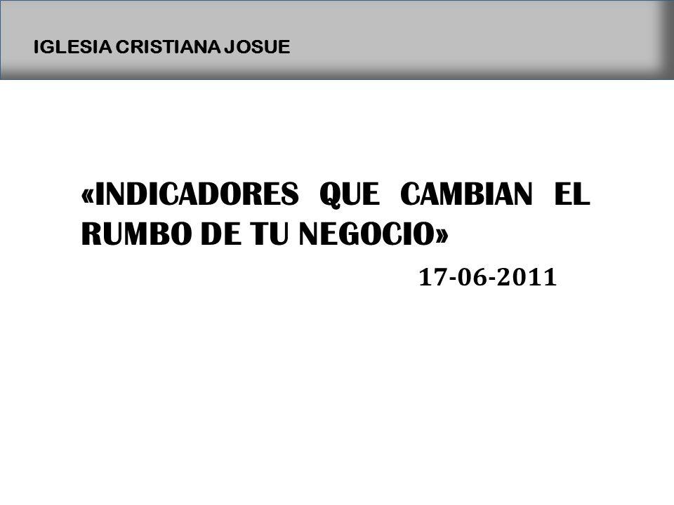 «INDICADORES QUE CAMBIAN EL RUMBO DE TU NEGOCIO»