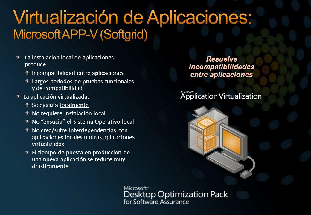 Virtualización de Aplicaciones: Microsoft APP-V (Softgrid)