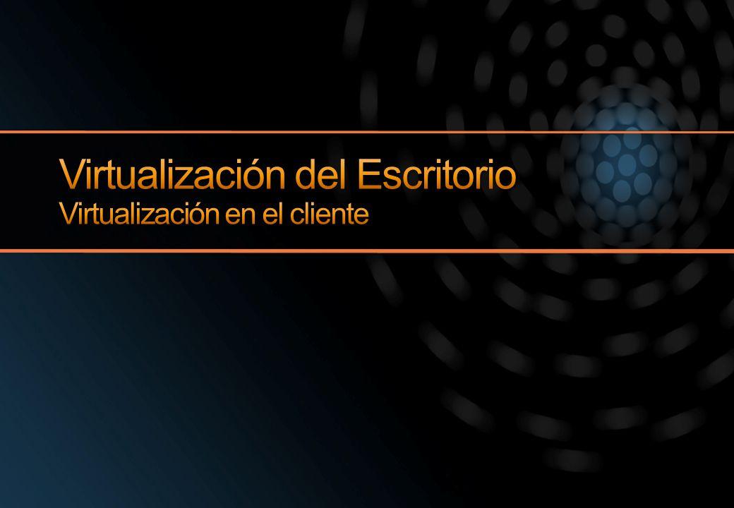 Virtualización del Escritorio Virtualización en el cliente