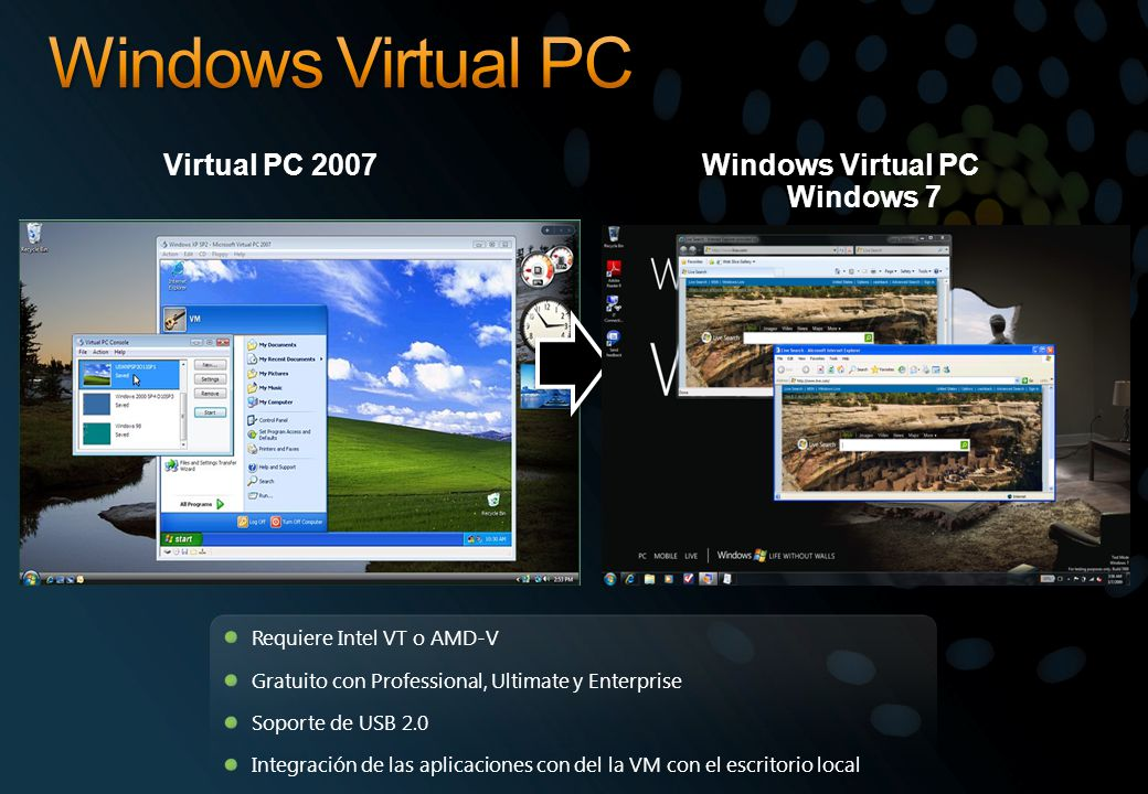 Windows Virtual PC Windows 7