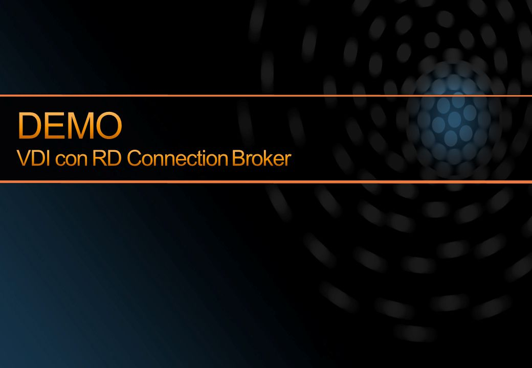 DEMO VDI con RD Connection Broker