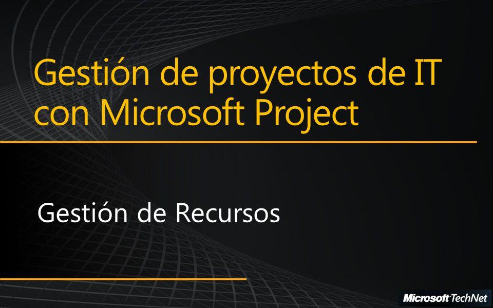 Gestión de proyectos de IT con Microsoft Project