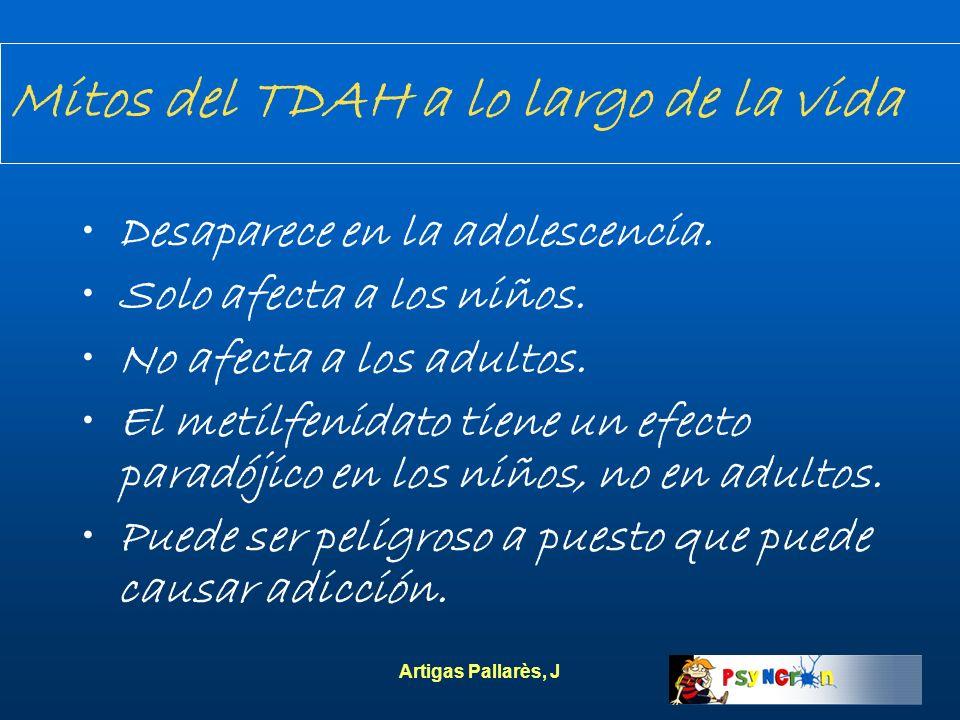 Mitos del TDAH a lo largo de la vida