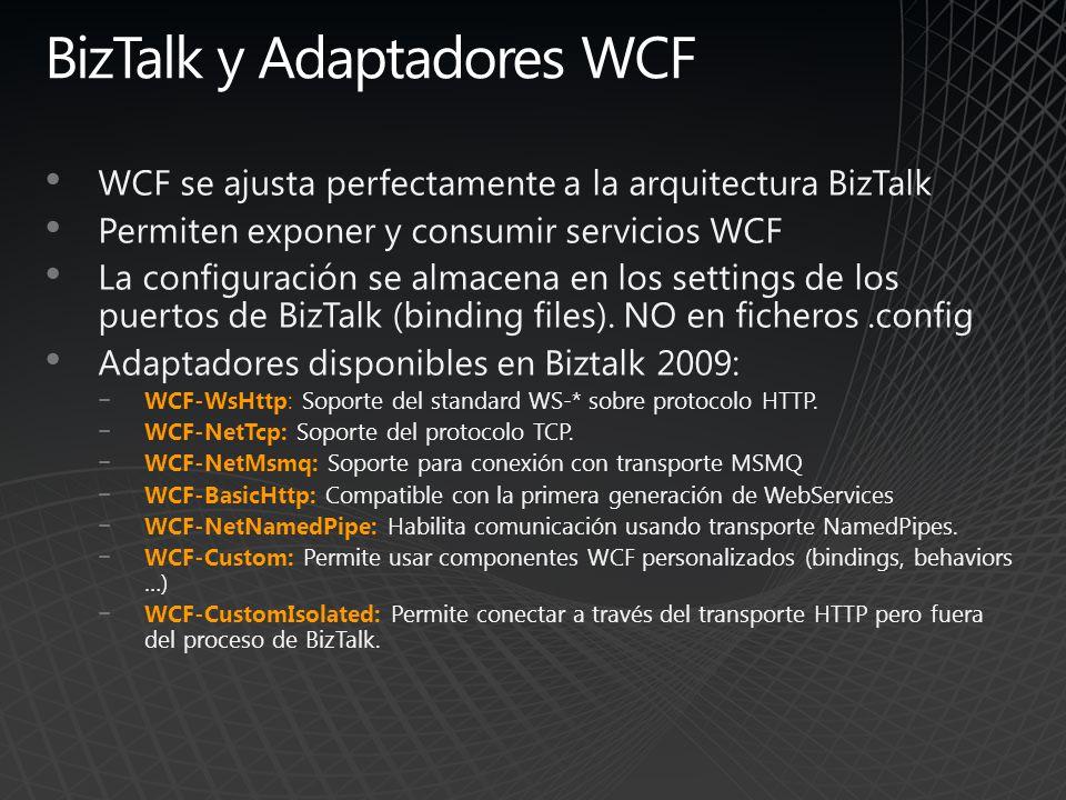 BizTalk y Adaptadores WCF