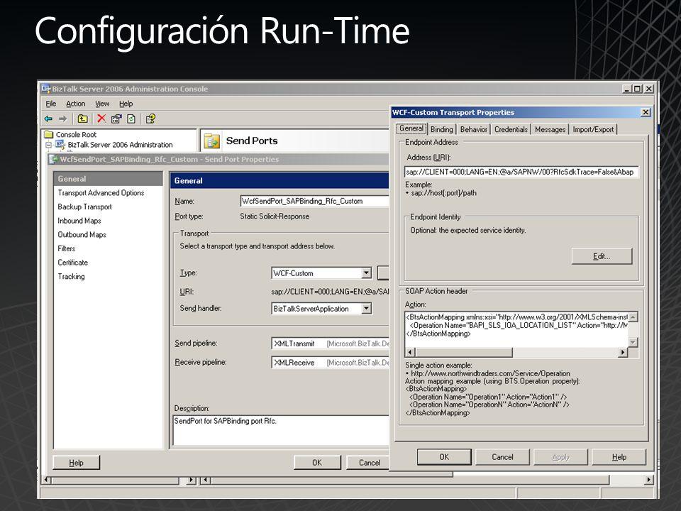 Configuración Run-Time
