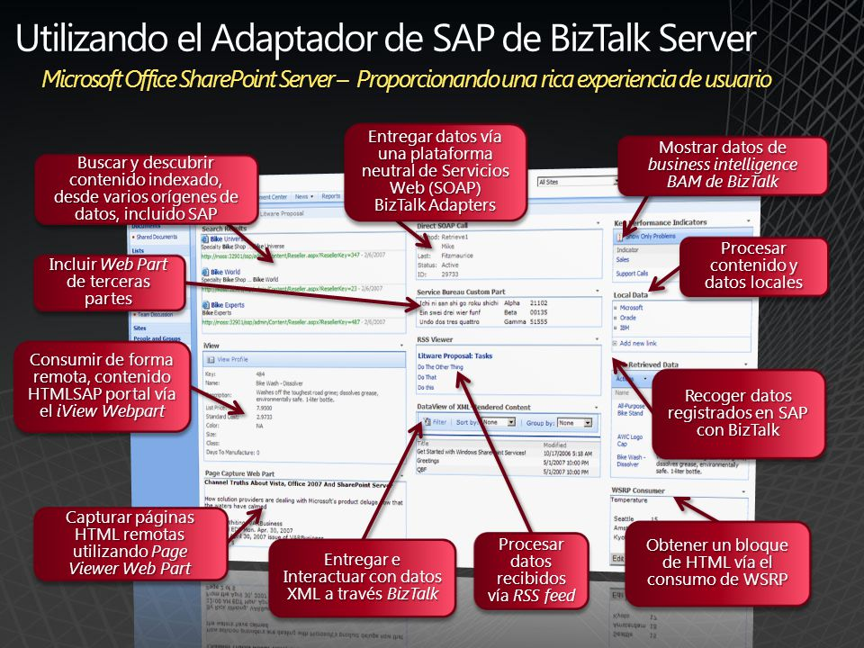 Utilizando el Adaptador de SAP de BizTalk Server