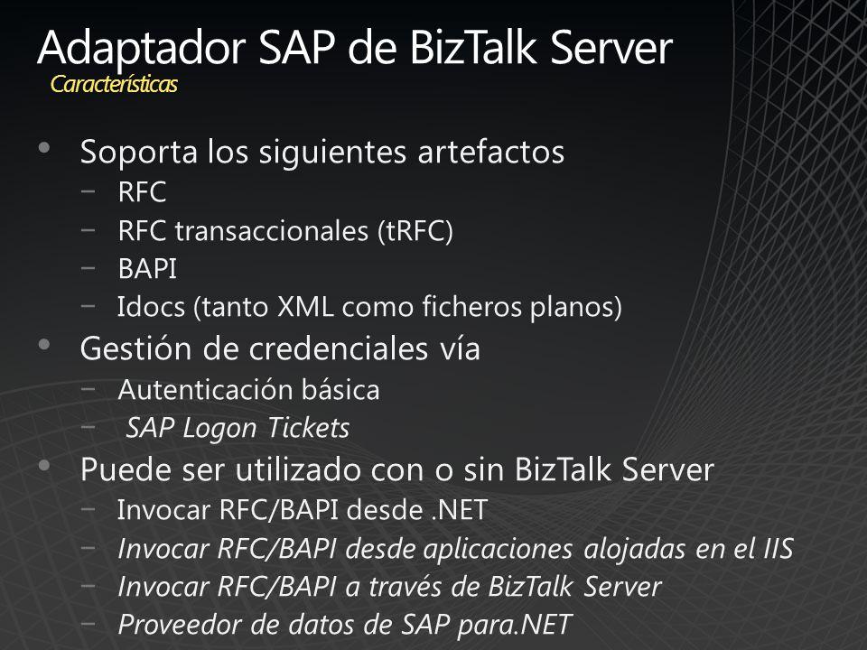 Adaptador SAP de BizTalk Server