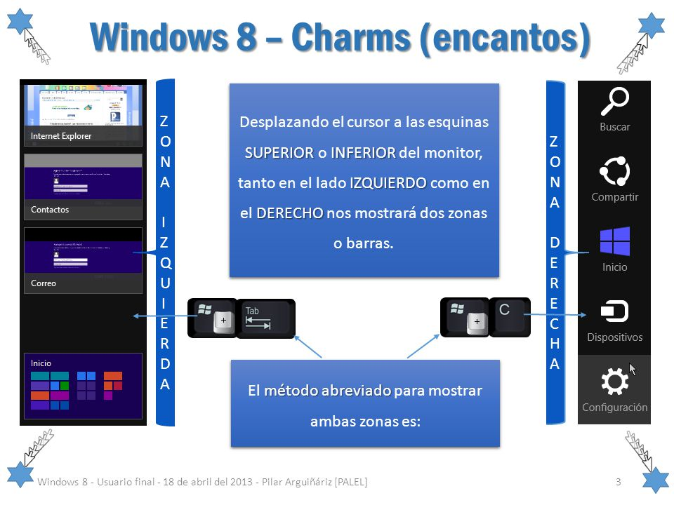 Windows 8 – Charms (encantos)