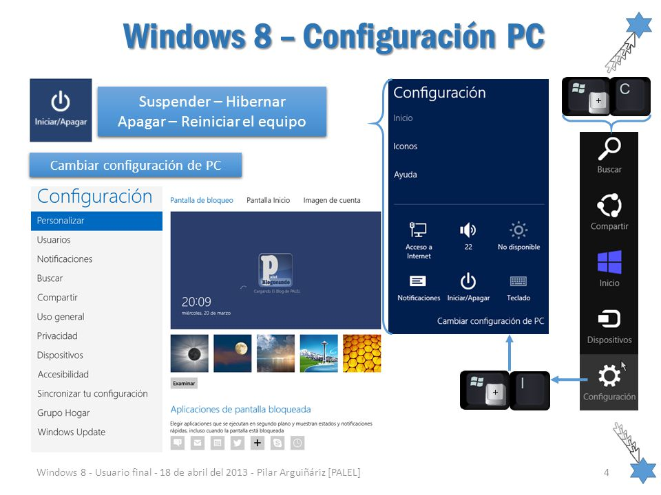 Windows 8 – Configuración PC