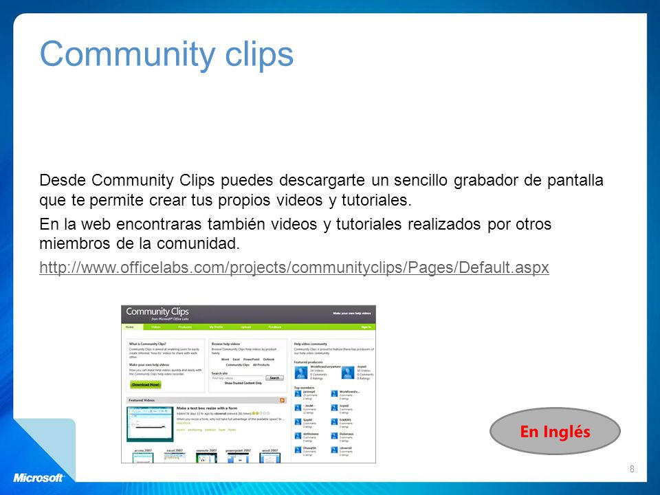 Community clips