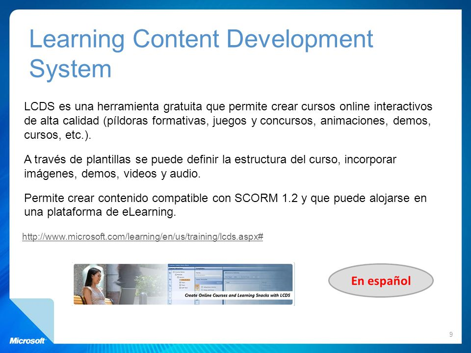 Learning Content Development System