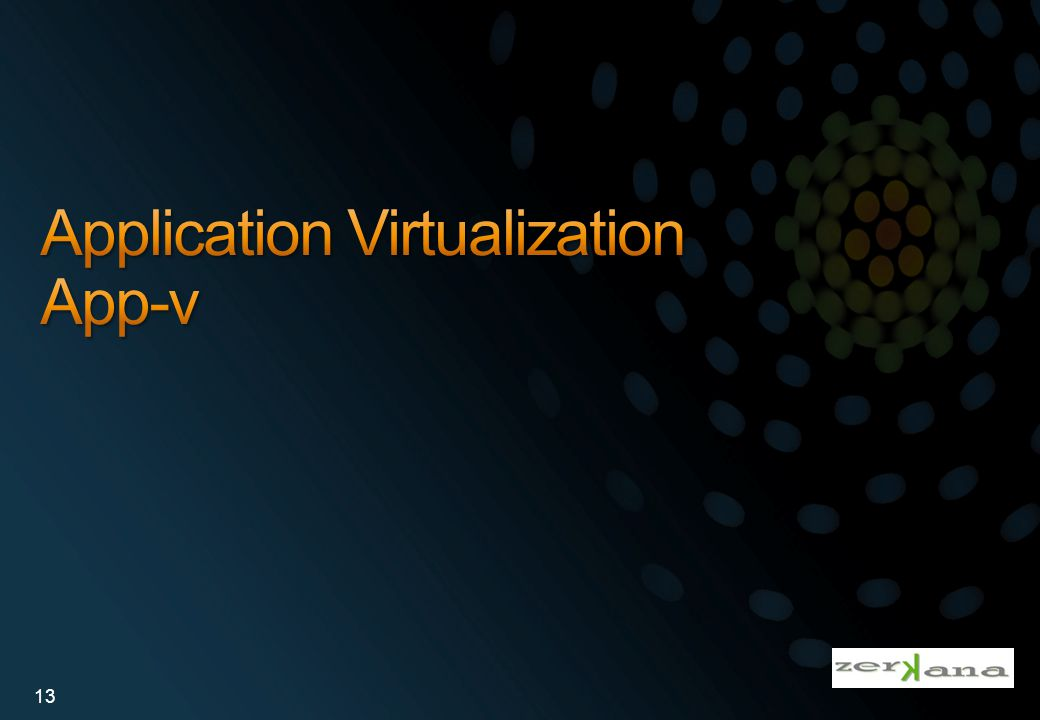 Application Virtualization App-v