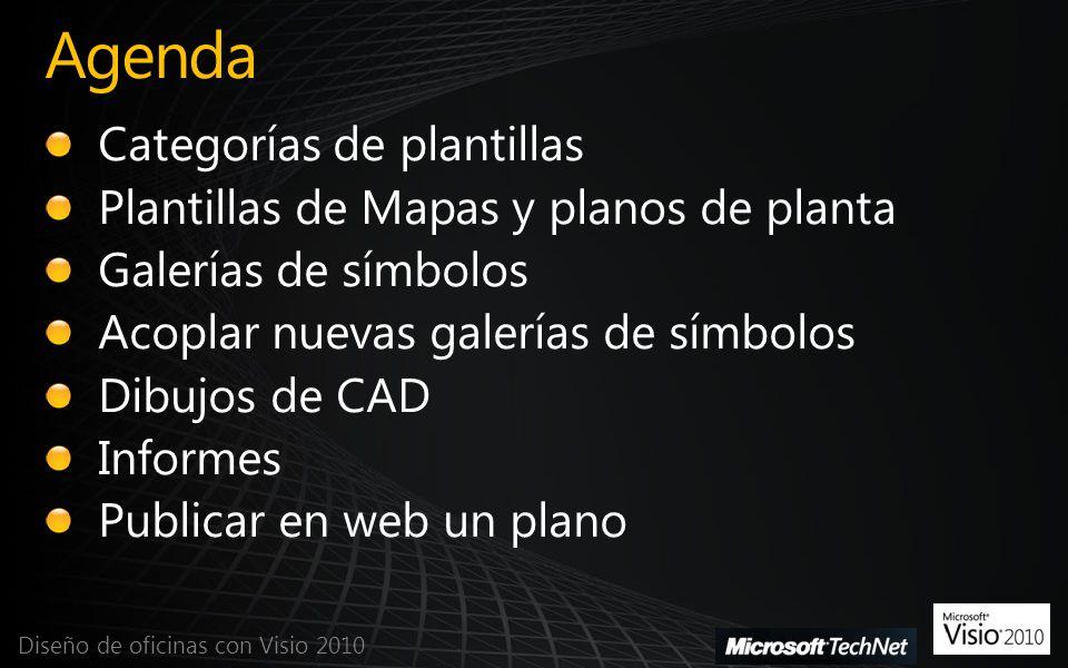 Agenda Categorías de plantillas Plantillas de Mapas y planos de planta