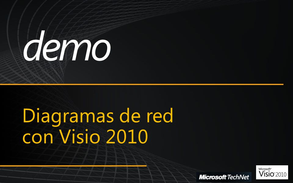 Microsoft SharePoint Conference 2009 Diagramas de red con Visio 2010