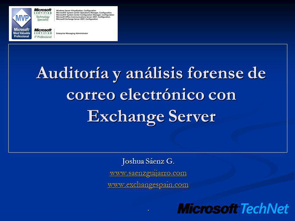 Joshua Sáenz G. www.saenzguijarro.com www.exchangespain.com .