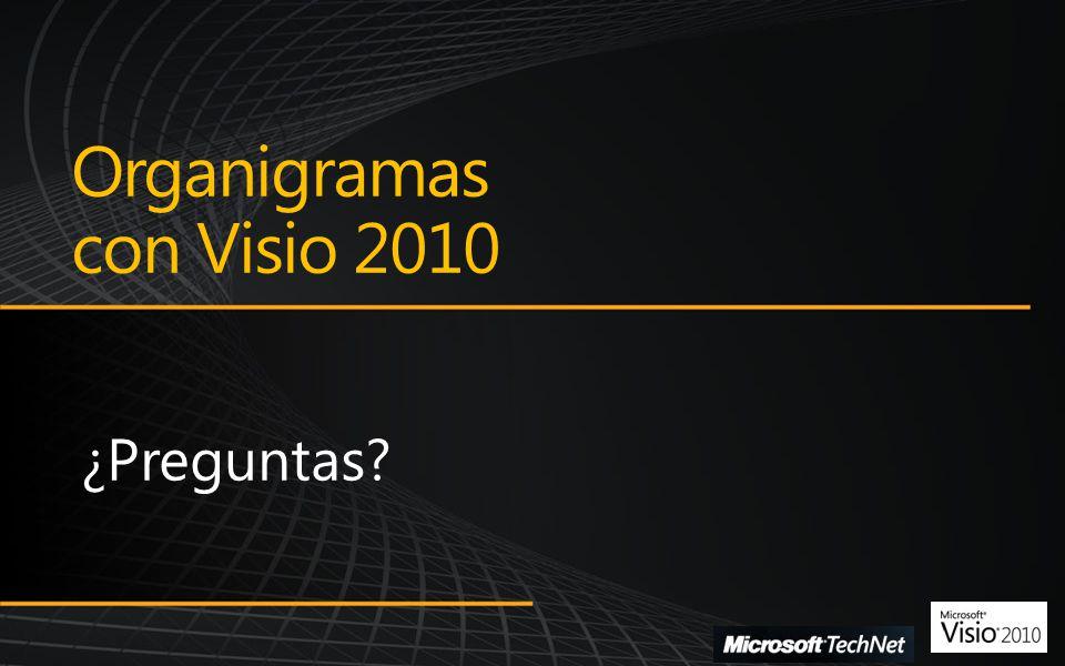 Organigramas con Visio 2010